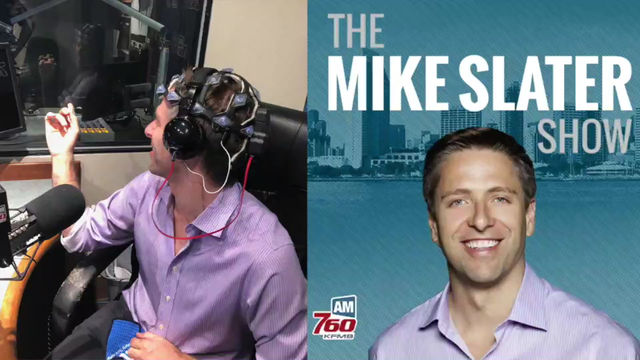 Mike and Eric get their brains probed live on air!