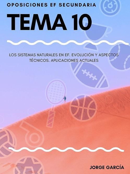 TEMA 10. LOS SISTEMAS NATURALES EN EF