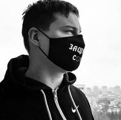 маска с вашим принтом