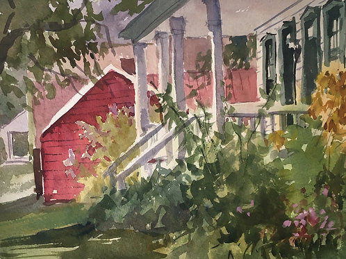 'Afternoon at Landis Valley' by Marita Hines