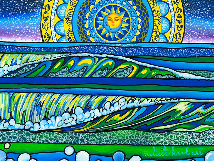 Celestial Seas Print