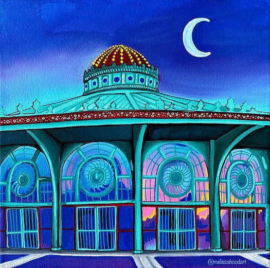 Asbury Park Carousel Art Print
