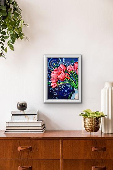 Original Tulip Painting