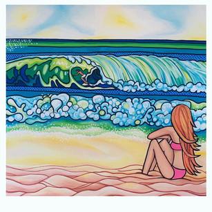 Surfer Crush by Melissa Hood