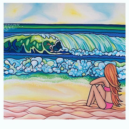 Surfer Crush Print