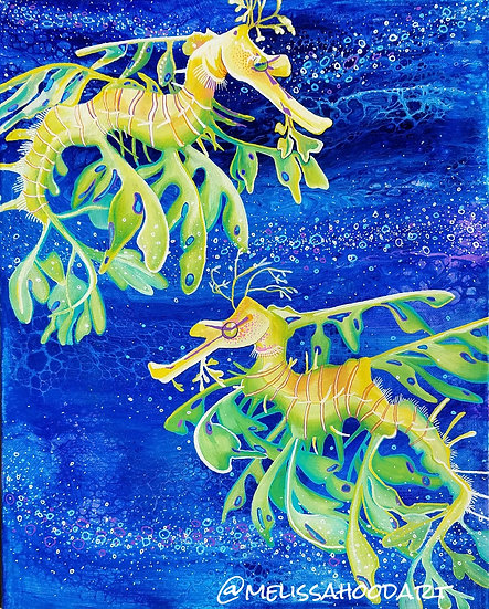Leafy Sea Dragons Print