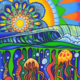 Ocean Mandala by Melissa Hood