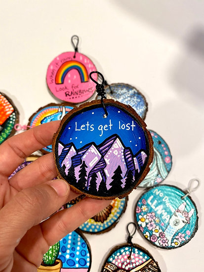 Let's Get Lost Ornament