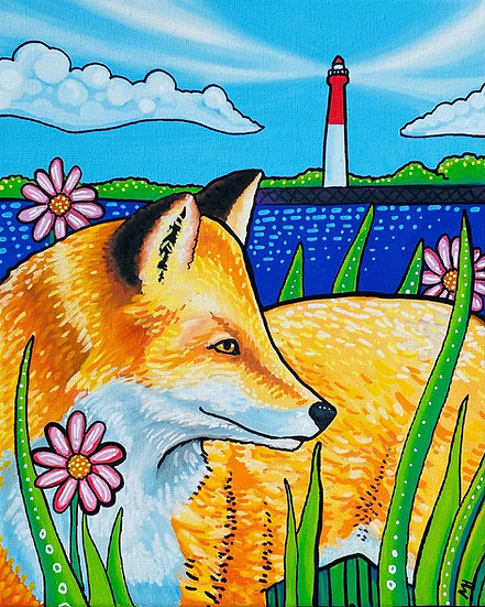 Fox with Lighthouse