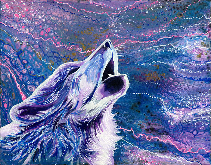 Wolf Song Print