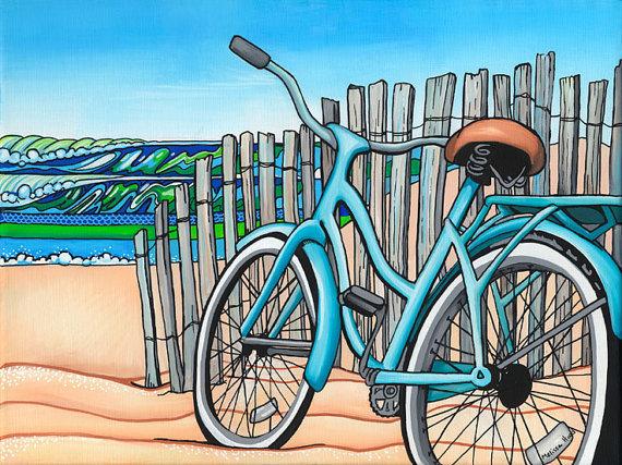Beach Cruiser Print