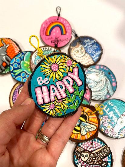 Be Happy Ornament