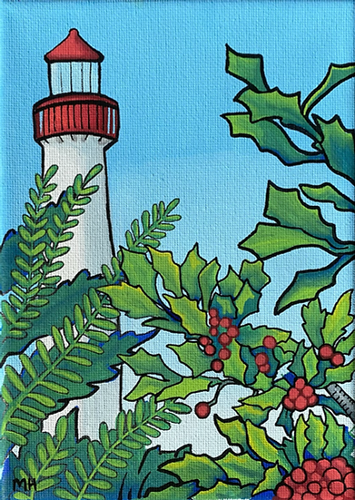 "Cape May Lighthouse 5""x7"" Art Print"