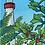 "Thumbnail: Cape May Lighthouse 5""x7"" Art Print"