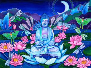 Buddha's Garden by Melissa Hood