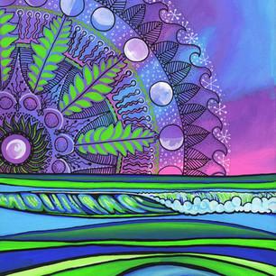 Monnrise Mandala by Melissa Hood