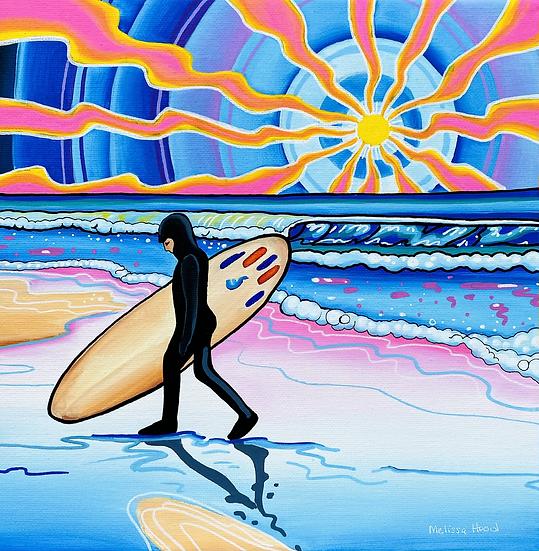Carter for SurfAid Art Print