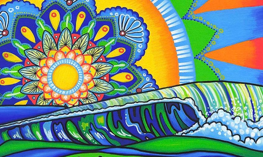 Melissa Hood Beach Art