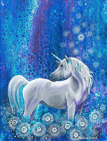 Dandelion Unicorn Print