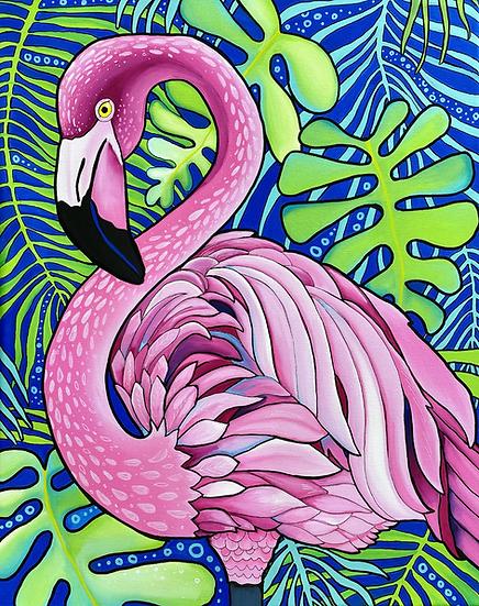 Fabulous Flamingo Print