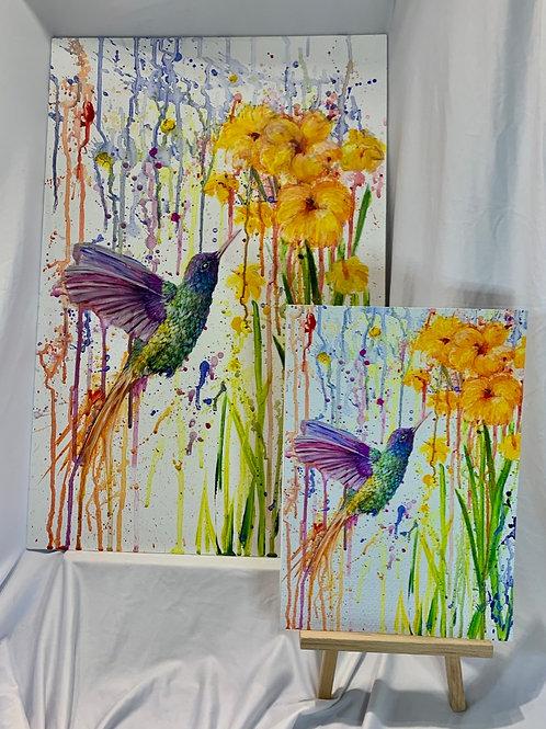 Hummingbird Acrylic