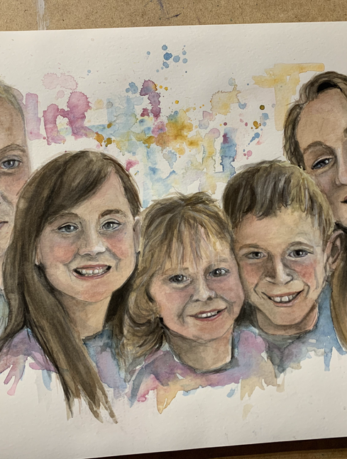 Watercolour People