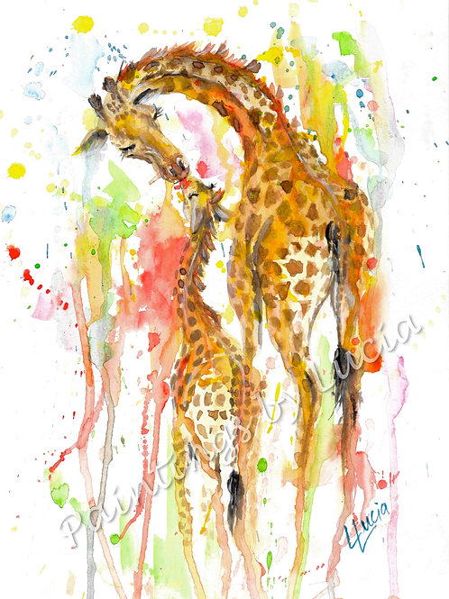 Giraffe (rainbow)