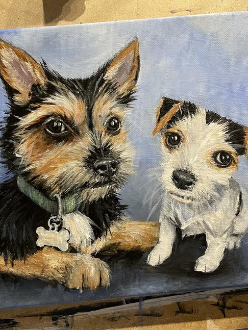 Acrylic Dogs