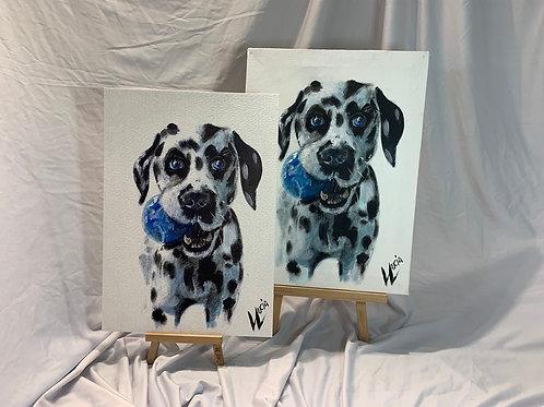 Dalmatian Acrylic