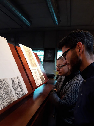 AG Polska visit in the Print Room of the University of Warsaw Library - the collection's catalog