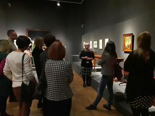 """Biedermeier""- new temporal exhibition in the National Museum in Warsaw - AG Polska visit"