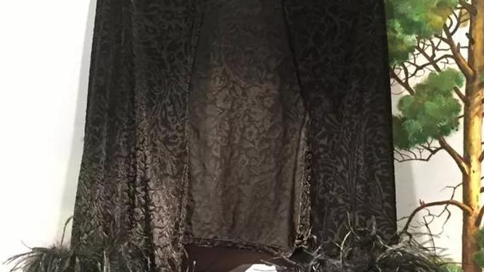 Cache-cœur noir - Gaby Deslys