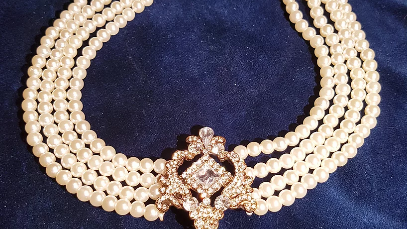 Collier perles - Gaby Deslys
