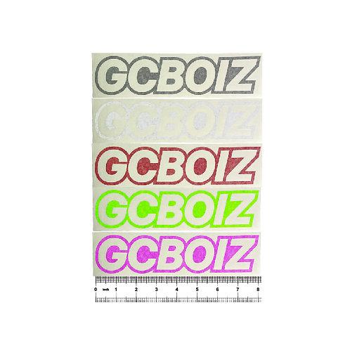 "8"" GCBOIZ Cut Vinyl Sticker (Singles)"