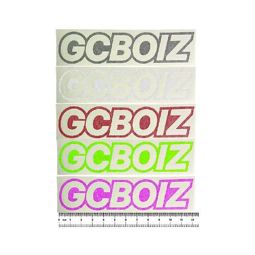 "12"" GCBOIZ Cut Vinyl Sticker (Singles)"