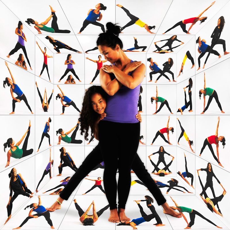 Bodybalance docente met dochter