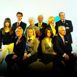 Modern familieportret