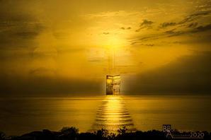 Portal to the horizon