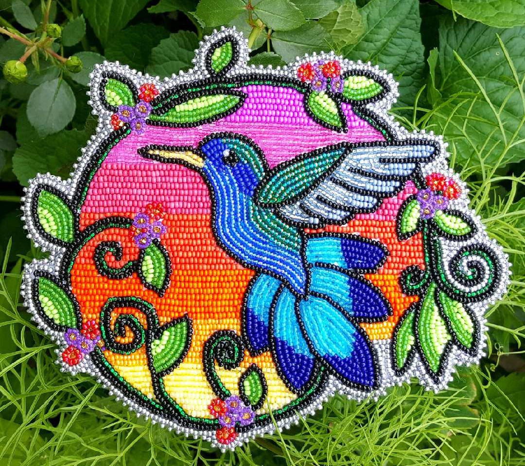 Hummingbird Medallion
