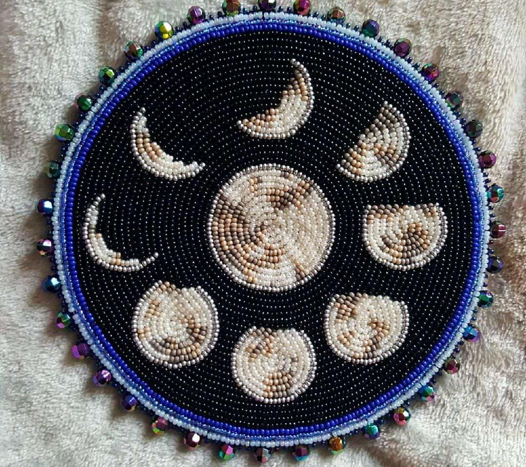 Moon Phases Medallion
