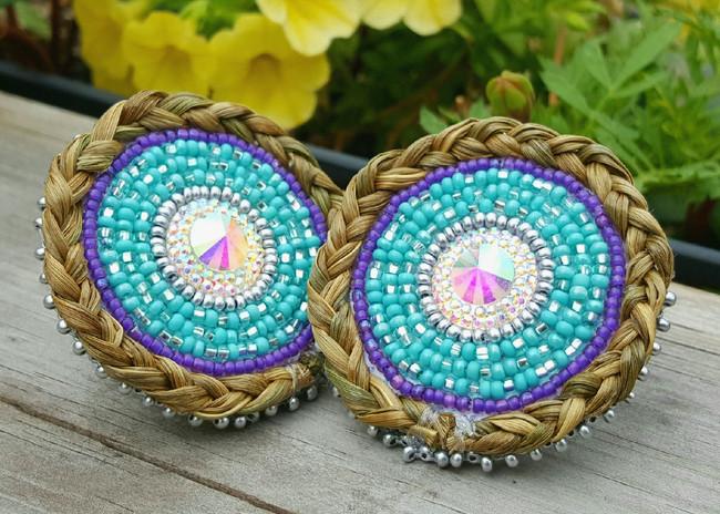 Sweet Grass earrings