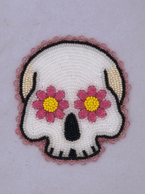 Daisy Eye Skull PATCH