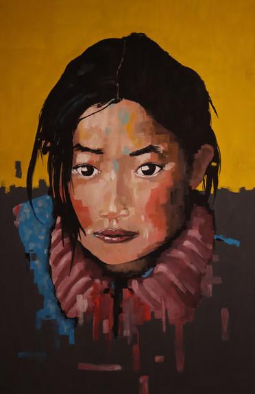 Tibetisches Maedchen