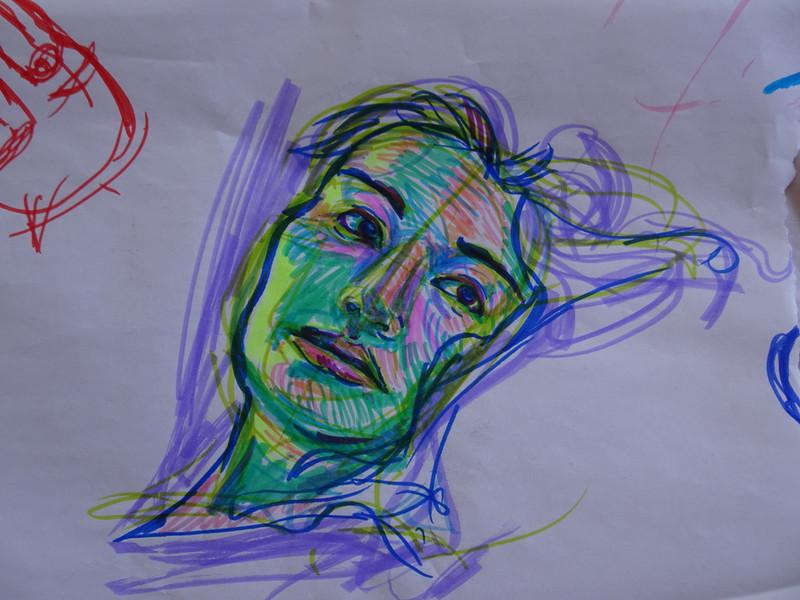 Marker Sketch, 2019