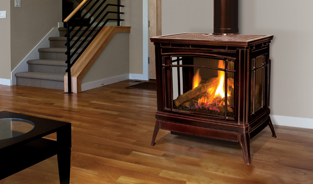 Enviro Berkeley 3-Sided gas stove