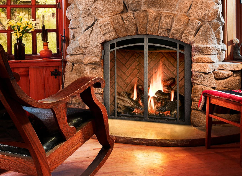 mendota full view gas fireplace