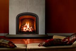 Mendota Greenbriar gas fireplace