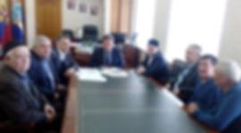 Члены Попечительского совета на приеме у Главы города Н.М. Лядина.