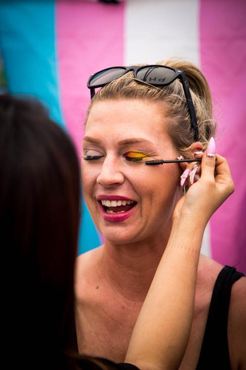 Sephora Pride Makeup Booth 2019