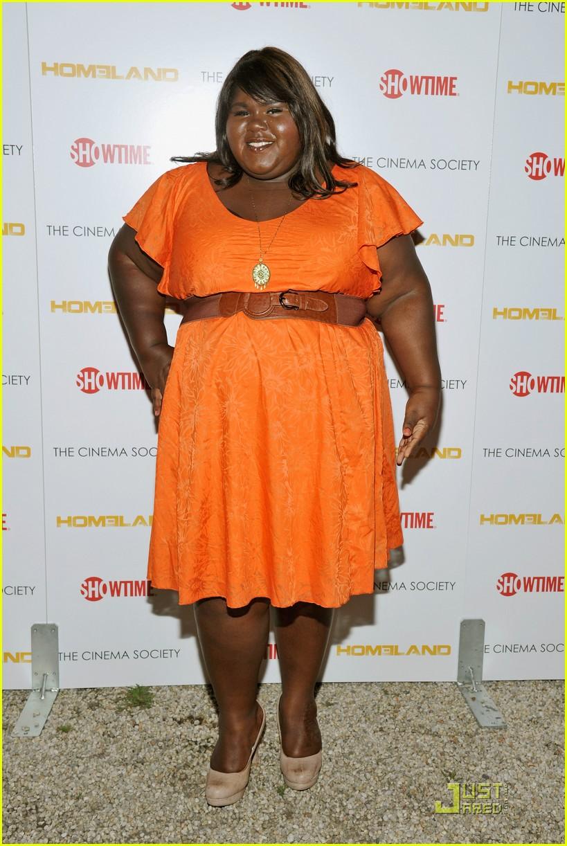 gabourey-sidibe-orange spring dress.jpg